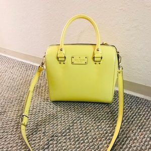 Kate Spade Yellow Handbag